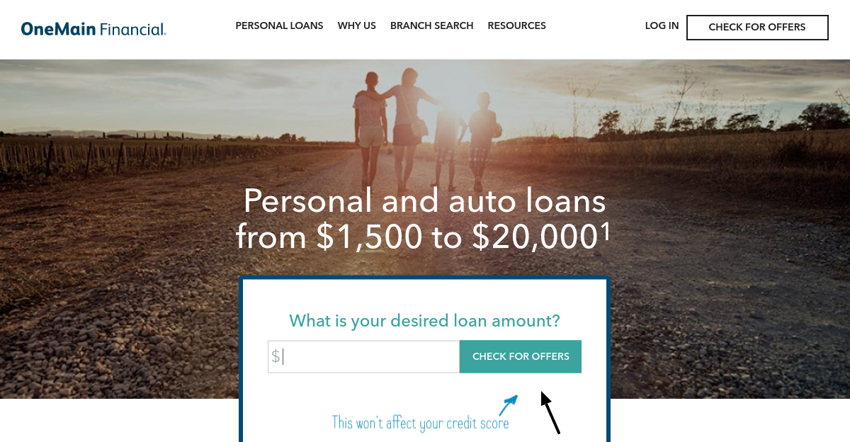 OneMain Financial Check Offers
