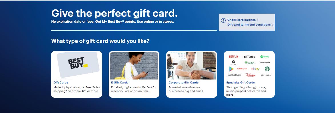 Buy Best Buy Gift card