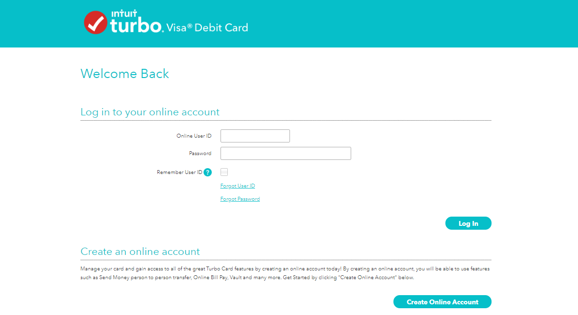 Turbo Prepaid Card Login