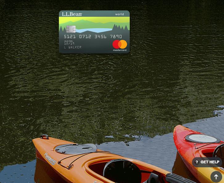 LL Bean MasterCard Login