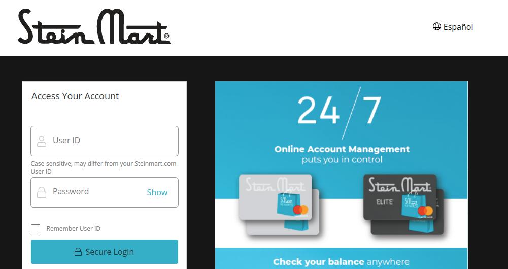 Stein Mart Credit Card Logo