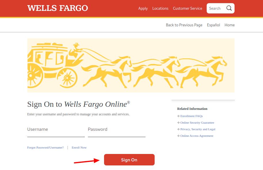 Wells Fargo Credit Card Logo