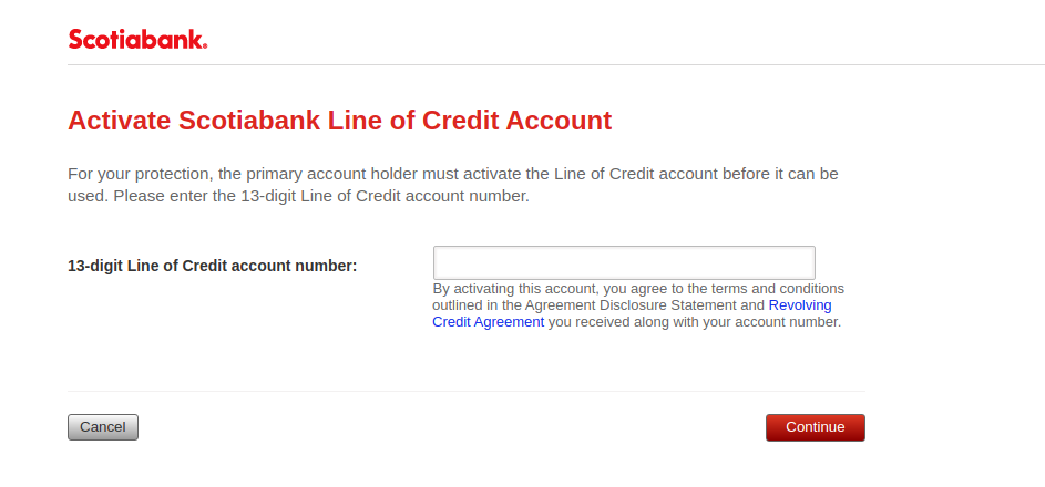 Scotiabank Credit Card Activate