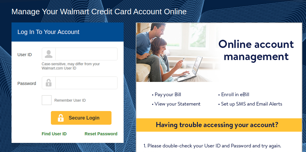 Walmart Credit Card Logo