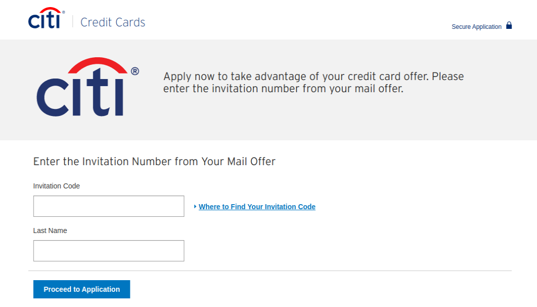 Citi Double Cash Card Application