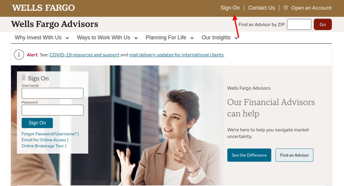Wells Fargo Advisors Login