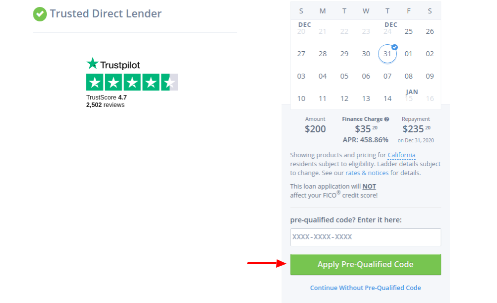 Direct Payday Lender