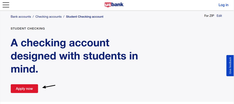 US Bank US Bank Student Banking Apply