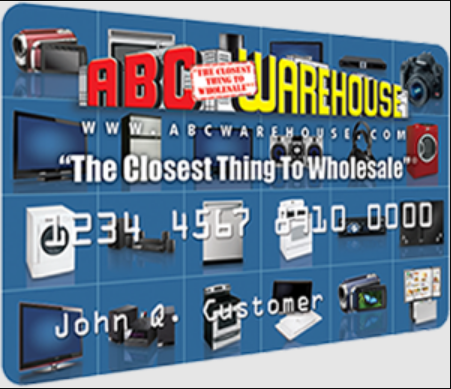 ABC Warehouse Credit Card Logo