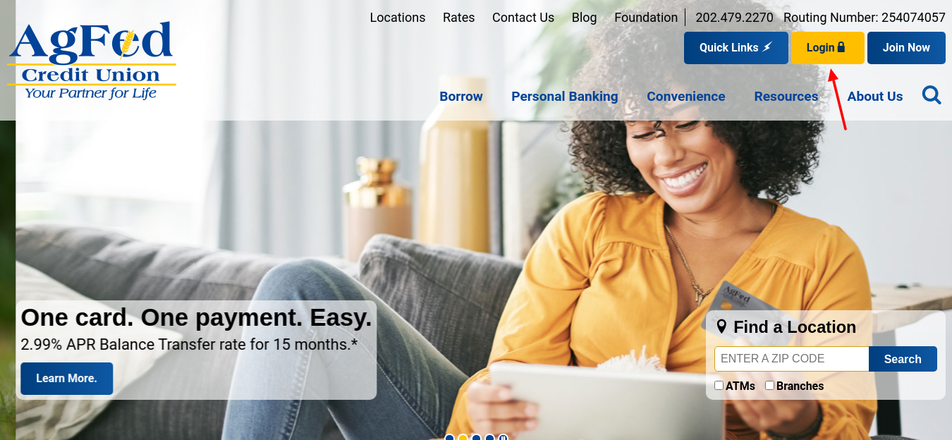 Agriculture Federal Credit Union Login