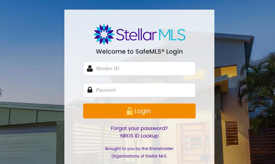 stellar mls login